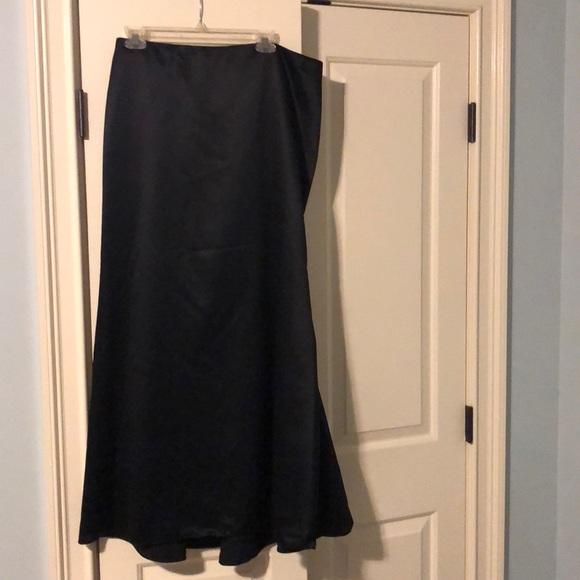 David's Bridal Dresses & Skirts - David's Bridal long black skirt